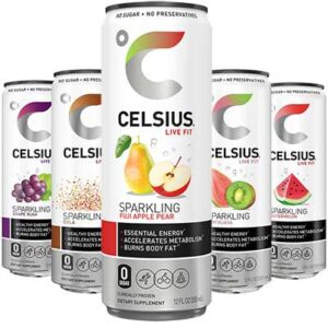 Free 12oz Celsius Energy Drink