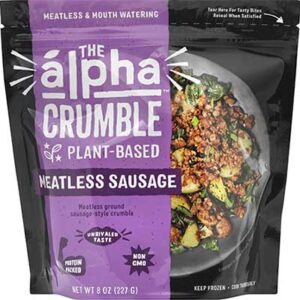 Free Alpha Foods Plant-Based Meatless Sausage