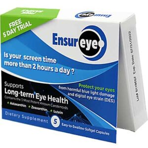 Free EnsurEye Supplement