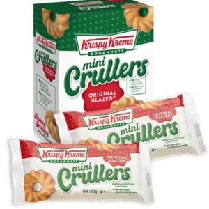 Free Krispy Kreme Mini Crullers