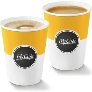 Free McCafé Hot Drink