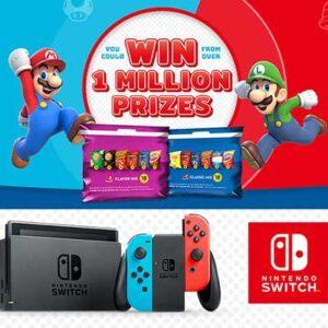 Free Nintendo and Frito-Lay Variety Packs