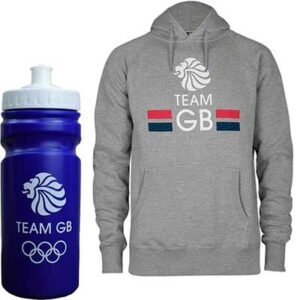 Free Team GB Water Bottle and Hoodies