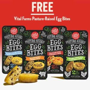 Free Vital Farms Pasture-Raised Egg Bites Product