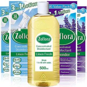 Free Zoflora Concentrated Multipurpose Disinfectant