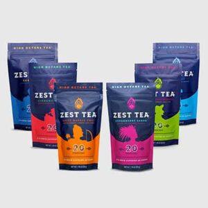 8 Free Energy Tea Bags