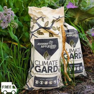 FREE 15 Pound Bag Of Johnny Appleseed Organic ClimateGard Fertilizer