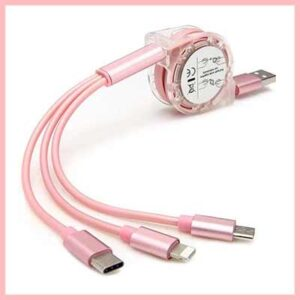 Free 3-in-1 USB Cable Cord Charger