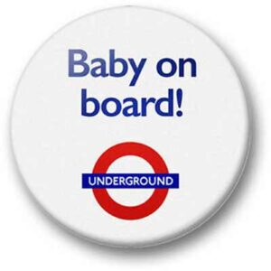 Free Baby on Board Badge