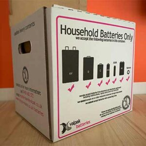 Free Battery Collection Box
