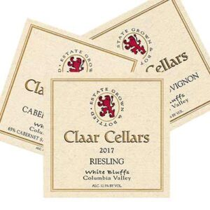 Free Claar Cellars Label Stickers