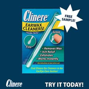 FREE Clinere Earwax Cleaners Sample