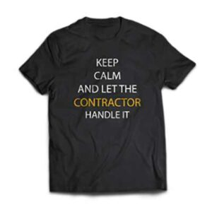 Free Contractirs T-Shirt