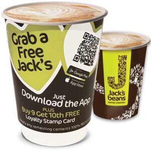Free Jack's Beans Coffee or Hot Chocolate