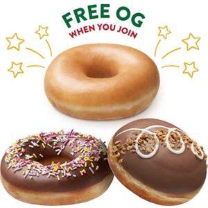 Free Krispy Kreme Og Donut