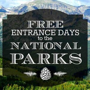 Free National Park Entrance Day on 4/17