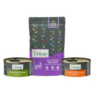 FREE Nature's Logic Cat Food Cans