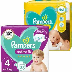 Free Pampers Active Fit or New Baby Nappies