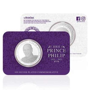 Free Prince Philip Silver Coin