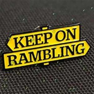 FREE Ramblers Pin Badge