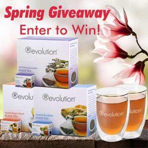 FREE Revolution Tea Spring Bundle + Glass