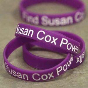FREE Susan Cox Powell Foundation Wristbands