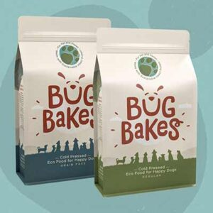 Free Bug Bakes Dog Food Sample