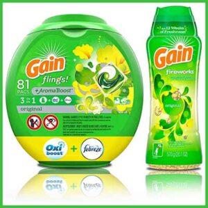 Free Free Gain Original Flings Laundry Detergent