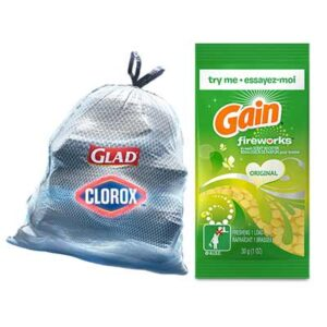 Free Glad ForceFlexPlus with Clorox Bags and Gain Fireworks Scent Boosters