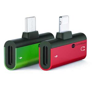 Free Headphone Jack Adapter & Charger for Cell Phones