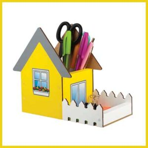 Free Kids May Desk Organizer Craft Kit