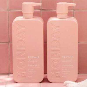 Free MONDAY Haircare Shampoo & Conditioner Set