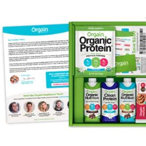 Free Orgain Samples for Healthcare Professionals