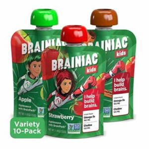Free 10 Pack of Brainiac Applesauce