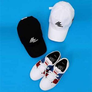 Free Ball Cap and Sneakers