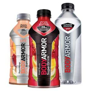 Free Bodyarmor SportWater and Towels