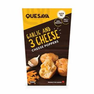 Free Cheese Poppers & Plant-based Pockets by Quesava