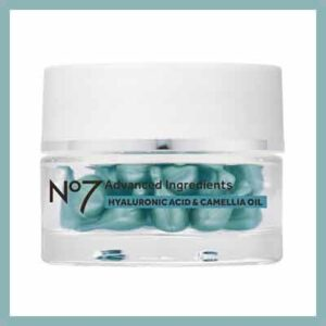 Free No7 Advanced Ingredients Hyaluronic Acid & Camellia Oil