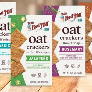 Free Oat Crackers by Bob's Red Mill USA