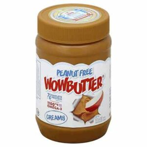 Free Sample of WowButter Creamy Peanut Free Toasted Soy Spread