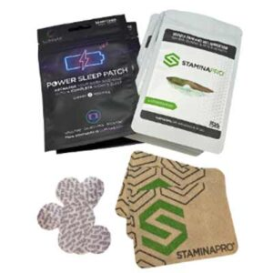 Free STAMINAPRO Active Recovery & Power Sleep Patches
