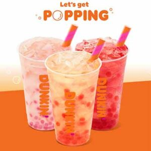 Dunkin' Popping Bubbles Instant Win Game