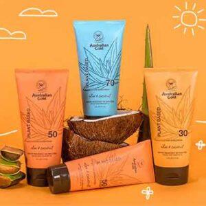 Free Australian Gold Plant Based Sunscreen