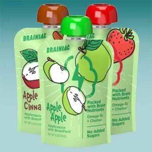 Free Brainiac Applesauce Squeezers