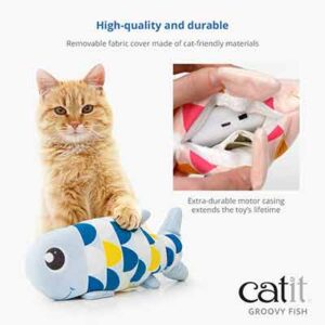 Free Catit Fish Toy