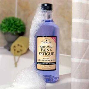 Free Chronic Pain & Fatigue Foaming Bath Oil & Body Wash