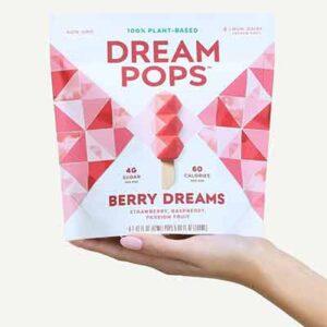 Free Dream Pops Frozen Dessert