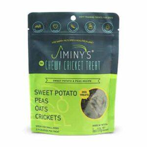Free Jiminy's Sweet Potato & Peas Soft & Chewy Training Treats