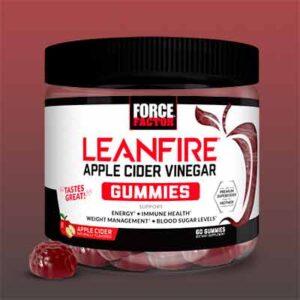 Free LeanFire Apple Cider Vinegar Gummies From Force Factor