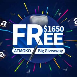 Free Neck Massager, Electric Toothbrush & Amazon Gift Cards in ATMOKO Giveaway